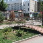 Город-курорт Саки - Центральная площадь